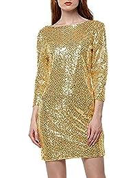 Abiti Donna vestiti da sera in Oro, compara i prezzi e