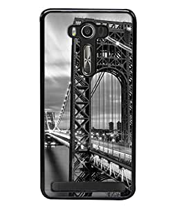 PrintVisa Designer Back Case Cover for Asus Zenfone 2 Laser ZE550KL (5.5 Inches) (Cartoon picture animated fancy traveling)