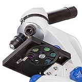 Amscope 40X-1000X Monokulares Mikroskop für Schüler oder Studenten mit...