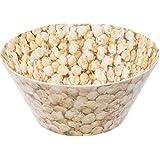 Splash 25 cm Diameter Salad Bowl in Popcorn Design