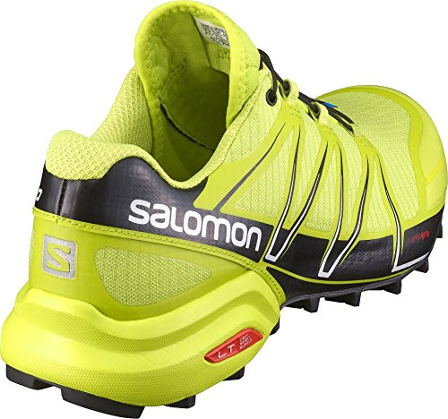 Salomon Herren Speedcross Pro Tomato Red White Black 46 Grün