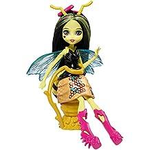 Mattel Monster High FCV49 - Monstruo de jardín Friendly Insect Beetrice - Una abeja, muñeca