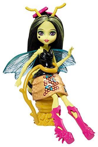 Mattel Monster High FCV49 - Garten-Monsterfreundinnen Insekt Beetrice - Eine Biene, Puppe