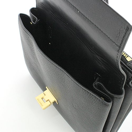 Minibag in pelle NOIR