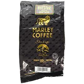 Marley Coffee Organic Buffalo Soldier Dark Roast Whole Bean Coffee 227g