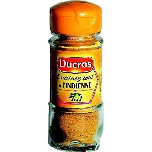 Ducros Flacon duc les mélanges cuisinez à l'indienne 50g - ( Prix Unitaire ) - Envoi Rapide Et Soignée