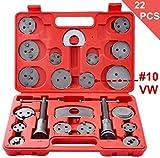 22 Pezzi Set di ripristino pistone del freno per la Parte Posteriore del pistone del Freno