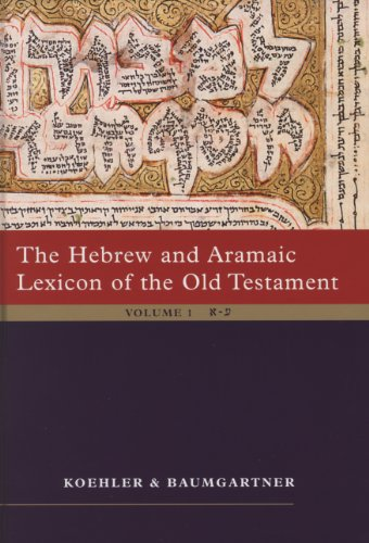 The Hebrew and Aramaic Lexicon of the Old Testament (2 Vol. Set): Unabdriged Edition in 2 Volumes: Study Edition, 2 Volumes - Set Stamm