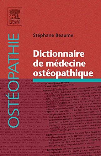 Dictionnaire de médecine ostéopathique par Stéphane Beaume