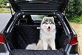 dibea PS00958 Auto Hunde Kofferraumdecke mit Ladekantenschutz und Seitenschutz, Einheitsgröße