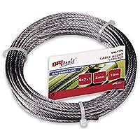 Cuydesa M86116G - Cable acero galvanizado (3 mm) color galvanizado