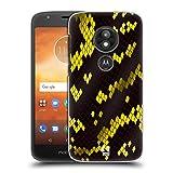 Head Case Designs Giftschlange Schlange Muster Ruckseite Hülle für Motorola Moto E5 Play