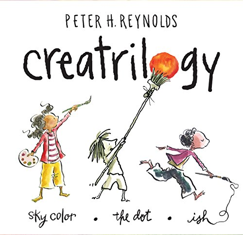 Peter Reynolds Creatrilogy Box Set (Dot, Ish, Sky Color) (Bücher Reynolds Von Peter)