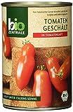 biozentrale Tomaten geschält, 6er Pack (6 x 400 g)