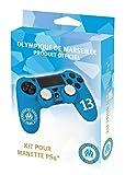 Kit pour manette PS4 (housse + caps) - Silicone pour manette playstation 4 - Licence...