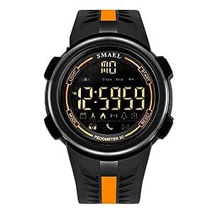 Unisex Junge Bluetooth Smartwatch IOS Runde Android Smart Fitness Übung Uhr Gadgets für Männer Teenager