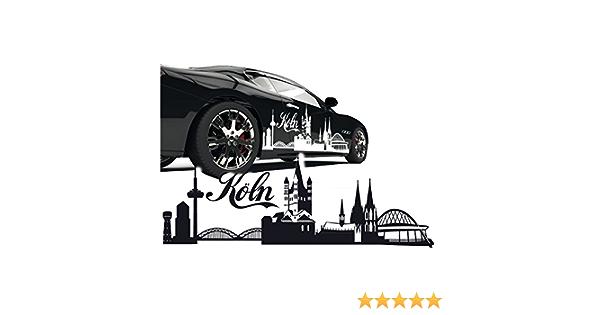 Silhouette Köln Kölner Dom Skyline Aut Aufkleber Sticker Stadt Motive Zum Verkleben Skd020 Auto