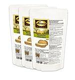 Dr. Almond Paleo Backmischung RHEINISCHES BAUERNBROT low-carb glutenfrei sojafrei (3er Pack)