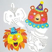 Suchergebnis Auf Amazon De Für Clown Masken Zum Ausmalen