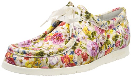 Sioux Damen Grash-d172-29 Sneaker, Mehrfarbig (Taupe-Multi), 36 EU (3.5 UK)