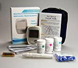 Easy Life Cholesterol Test Kit Monitor Meter starter pack Glu/Cho/HB