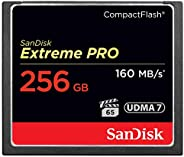 SanDisk Extreme Pro 128 GB 160 MB/s Compact Flash Memory Card - Black/Gold/Red