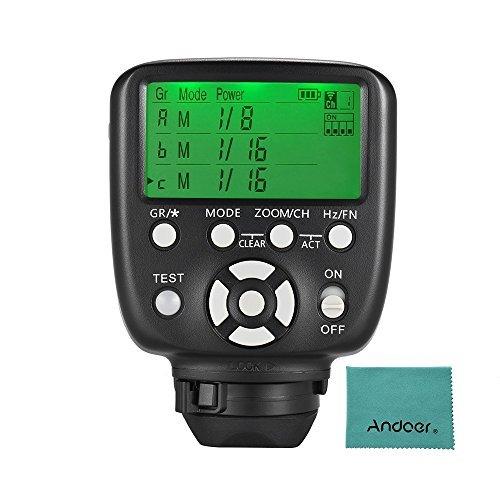 Yongnuo yn560-tx II Trigger Flash manuell Fernbedienung Transmitter LCD für Kamera Canon/Nikon DSLR A YN560III/YN560IV/yn660/yn968N/yn860li Receiver Speedlite 602/RF603/RF603II/RF605 (Nikon-flash-trigger)