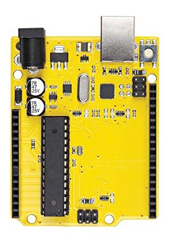 Whats Next? Gelb Mikrocontroller-Platine basierend auf dem ATmega328Arduino kompatibel.-wn00001 (Motherboard Gelb)