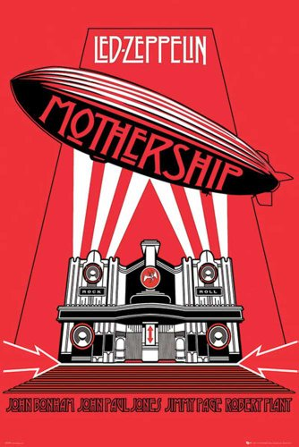 LED Zeppelin-poster-Mothership + Poster a sorpresa