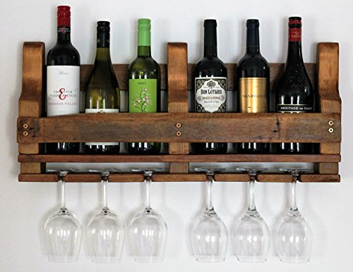 Wein Rack – Kiefer Antik