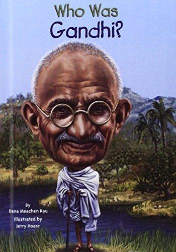 Who Was Gandhi? (Turtleback School & Library Binding Edition) by Dana Meachen Rau (2014-11-13)