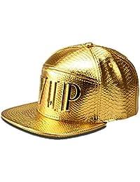 Gorra de béisbol Unisex de Gorra Plana Ajustable de Hip Hop, Sombrero del Snapback Bordado