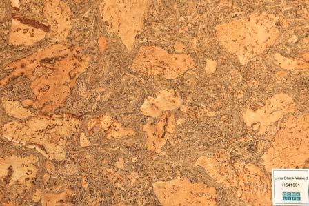 Lima Black corcho para paredes - 1,98 m2
