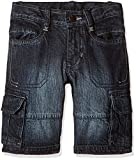 UFO Boys' Shorts (AW-16-DF-BKT-281_Indigo_12 - 13 years)