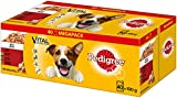 Pedigree Hundefutter Nassfutter Adult in Gelee, 40 Portionsbeutel (40 x 100g)