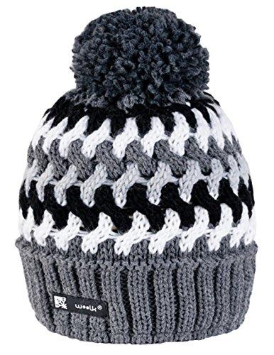 Unisex Beanie Hat COOKIES Bonnet d'hiver chaud Fashion SKI SNOWBOARD Sport doublure polaire 100% Laine (Eskimo 64) (Cookies 38) Cookies 38