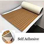 yuanjiasheng 90×240cm EVA Synthetic Boat Decking Sheet Yacht Marine Flooring Anti Slip Carpet With Backing Adhesive,Bevel Edge 13