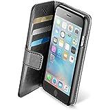 Cellular Line cbookagendaiph655K Book Agenda Étui pour Apple iPhone 6/6S Plus 14cm (5,5pouces) (Noir)