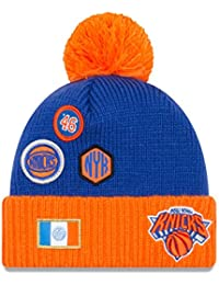 New Era Nba draft 2018 Berretto con pompon - New York Knicks 49c4491b73bd