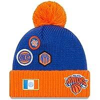 best service febd9 50818 New Era York Knicks 2018 NBA Draft Knit Hat