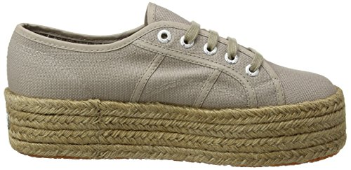 Da Donna Superga 2790cotropew Scarpe da ginnastica Brown Fungo 4 UK