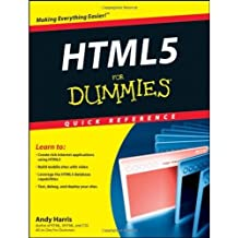 [(HTML5 For Dummies Quick Reference)] [by: Andy Harris]
