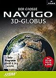 Der große Navigo 3D Globus -