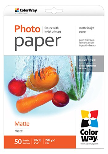 ColorWay PM1900504R Matte Photopapier High Contrast Matte
