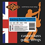 Rotosound 5-String Nickel Swing Bass Guitar Strings (RS665LDN)45-130