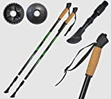 Axersport, Stöcke Nordic Walking, Speed, Teleskop, Anti Schock Trekking Aluminium