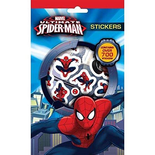 MARVEL SPIDER-MAN 700 variés autocollants pour enfants sac soirée pochette surprise REMPLISSAGE cadeau