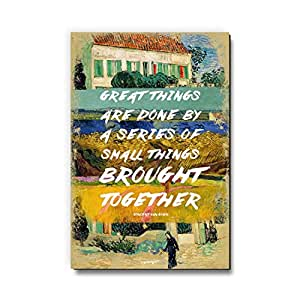 Great Things by Vincent Van Gogh Fridge Magnet/Multipurpose Magnet for Home/Kitchen / Office by Seven Rays