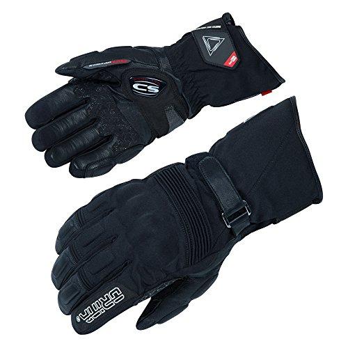 Motorradhandschuhe Orina Hero - All-Wetter Handschuh - OutDry Membran - Carbon-Protektor - GelPad (L)