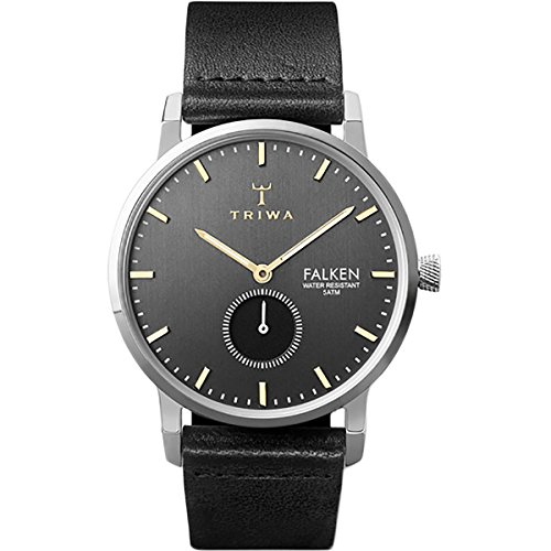 Triwa Falken Watch Smoky Falken/Black Classic, One Size